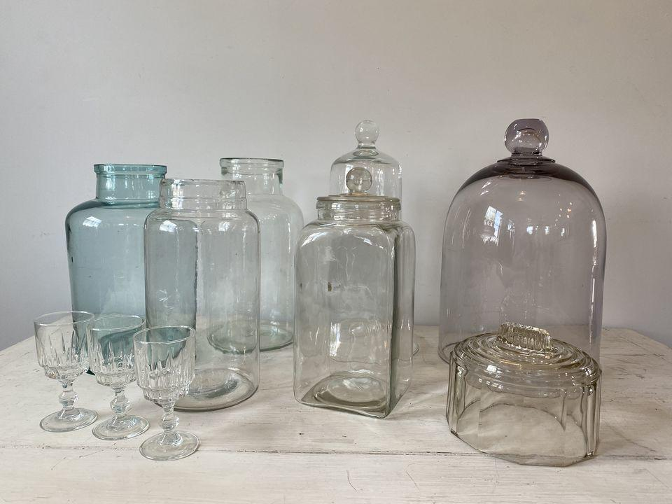 Glass bottle & Glass domeの画像